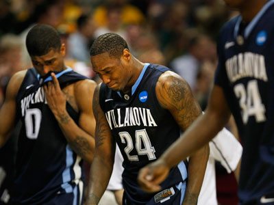 Villanova lost in the first round of the NCAA Tournament this year to George Mason. (Ron Cortes / Staff Photographer)