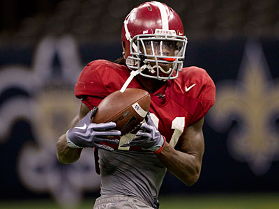 Could the Eagles target Alabama cornerback Dre Kirkpatrick in the first round? (AP Photo)