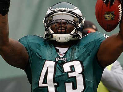 Leonard Weaver wants Donovan McNabb to stay in Philadelphia. (Michael S. Wirtz/Staff file photo)