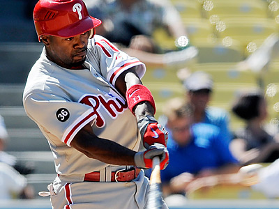 Where does Jimmy Rollins rank among the best infielders in the game? (AP Photo/Chris Pizzello)