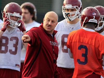 Steve Addazio is entering his second season as Temple´s football coach. (Ron Cortes/Staff Photographer)