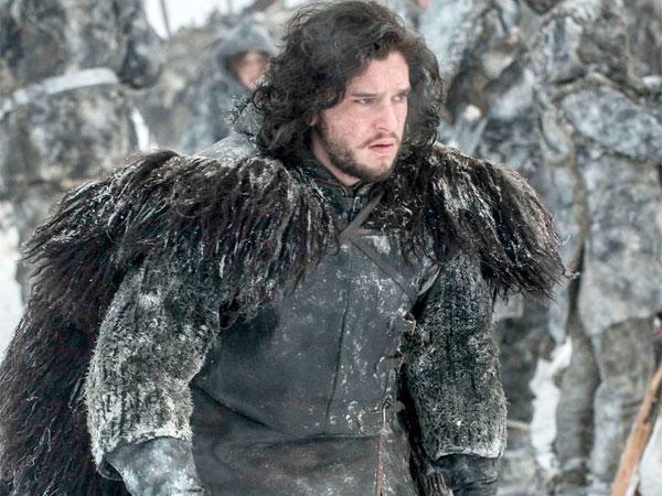 "Kit Harington as Jon Snow in ""Game of Thrones"" season opener."