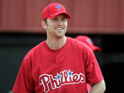 Brad Lidge is recovering from multiple surgeries, but is expected to return in April. (David Swanson / Staff Photographer)