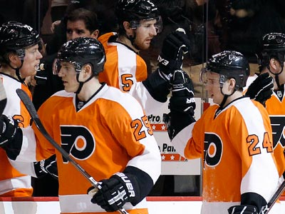 The Flyers are 11-3-1 in the month of March. (Yong Kim/Staff Photographer)