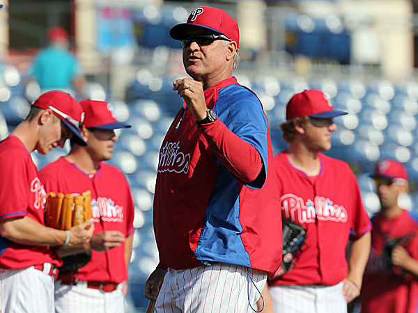Phillies manager Ryne Sandberg. (Yong Kim/Staff Photographer)
