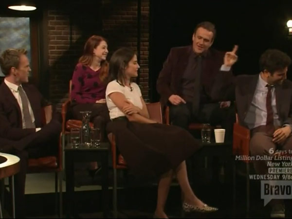 "Neil Patrick Harris and Jason Segel perform ""Confrontation"" on ´Inside the Actors Studio."