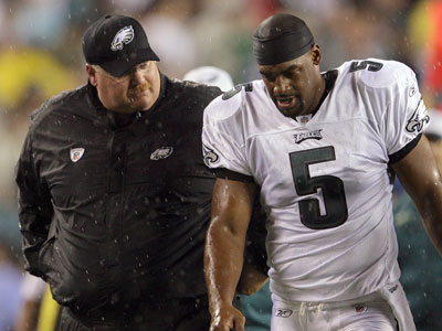 Is Andy Reid close to dealing Donovan McNabb? (Yong Kim / Staff Photographer)