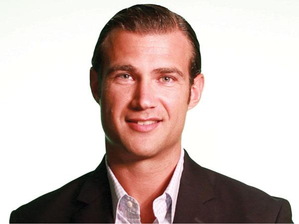 Saxbys CEO Nick Bayer. (Photo from Saxbys/Slice Communications)
