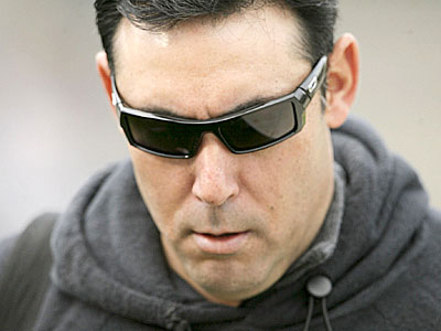 """""""If we had another guy go down, we´d be scrambling a little bit,"""" Phillies GM Ruben Amaro admitted Wednesday. (Yong Kim / Staff Photographer)"""