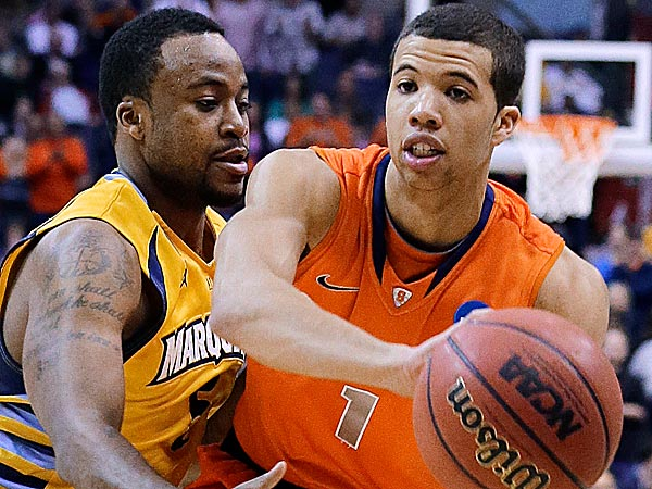 Michael Carter-Williams was chosen as the top player in the East Regional for helping No. 4 seed Syracuse make it to the Final Four. (Alex Brandon/AP)