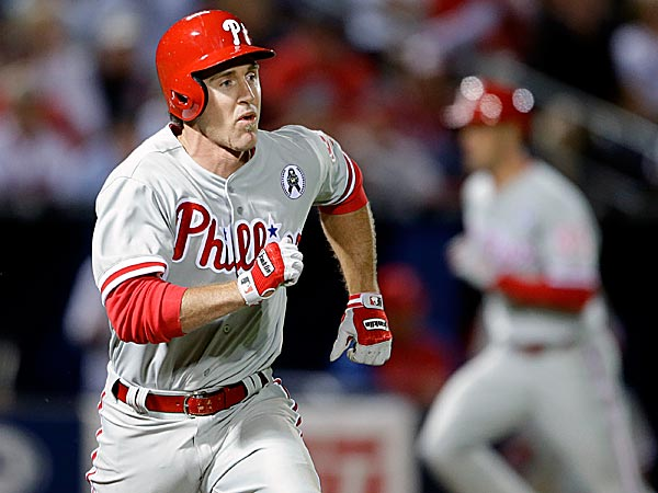 Phillies second baseman Chase Utley. (David Goldman/AP)