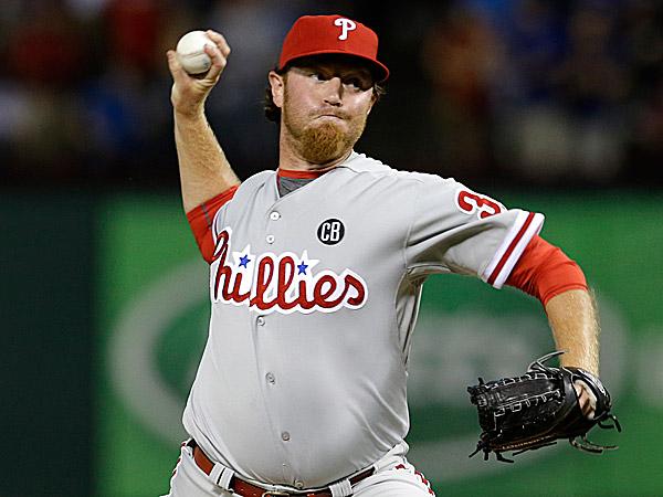 Phillies reliever B.J. Rosenberg. (Tony Gutierrez/AP)