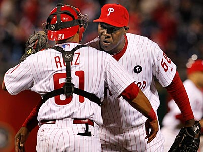 Jose Contreras is part of an impressive Phillies bullpen early in the season. (Ron Cortes/Staff Photographer)