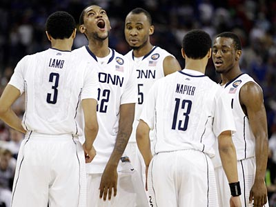 UConn beat Kentucky in the Final Four on Saturday to reach the national championship. (AP Photo)