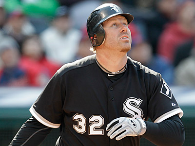Chicago White Sox´s Adam Dunn was a fantasy star on Friday. (AP Photo/Tony Dejak)