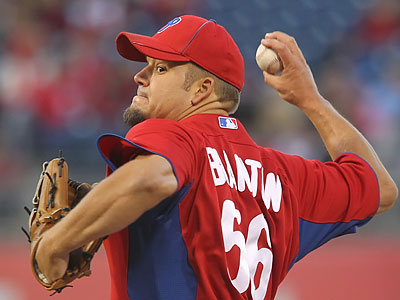 Joe Blanton will get the start for the Phillies tonight. (Michael Bryant/Staff Photographer)