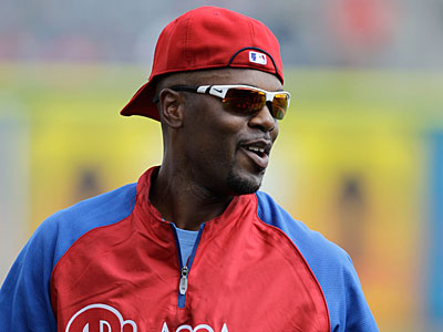 Jimmy Rollins will hit third in the lineup again. (Kathy Willens/AP)