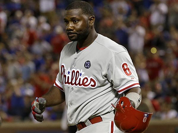 Phillies first baseman Ryan Howard. (Tony Gutierrez/AP)