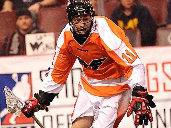 Wings transition player Joel White. (Photo courtesy of Philadelphia Wings)