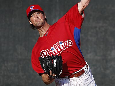 Cole Hamels' elbow inflammation was big news in spring training. (David Maialetti/Staff Photographer)