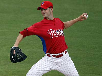 J.A. Happ will start the season in the bullpen for the Phillies after Chan Ho Park won the fifth starter job. (David Maialetti / Staff Photographer)