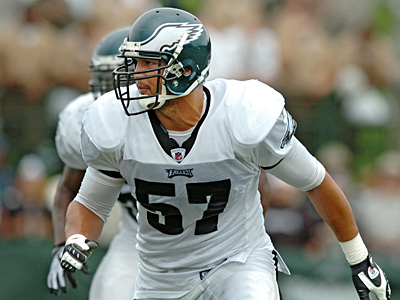 Eagles linebacker Chris Gocong was traded to the Browns on Friday. (Clem Murray / Staff Photographer)