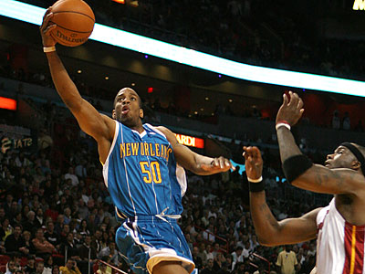 Antonio Daniels has played for a number of teams in his NBA career, most recently the New Orleans Hornets. (Jeffrey M. Boan/AP file photo)