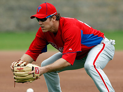 Could Chase Utley play first base for the Phillies when he returns from injury? (Yong Kim/Staff Photographer)