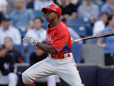 Juan Pierre scored two runs in the Phillies´ win over the Pirates on Monday. (Kathy Willens/AP)