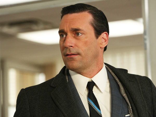 "Don Draper, played by Jon Hamm, in Season 6, Episode 2 of AMC´s ""Mad Men."" (Michael Yarish/AMC)"