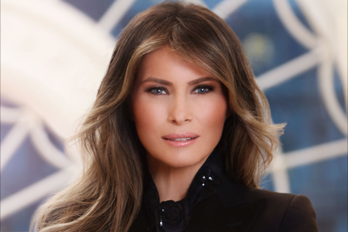 First lady Melania Trump's official White House photo.
