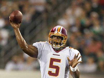 Donovan McNabb in a Redskins uniform? Say it ain´t so. (Chris Corter / Philly.com Photo Illustration)