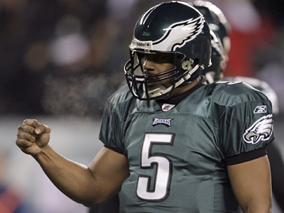 Donovan McNabb lead the Eagles to five NFC Championships in his career in Philiadelphia. (Yong Kim / Staff File Photo)