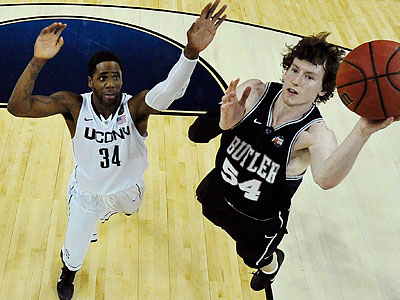 Butler shot only 18.8 percent from the field in the national championship game. (Chris Steppig/AP)