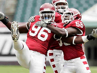 Temple defensive lineman Muhammad Wilkerson could be a first-round pick in the NFL draft. (Tom Mihalek/AP)
