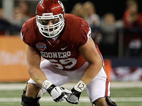 Oklahoma ´s Lane Johnson. (AP Photo/Tony Gutierrez)