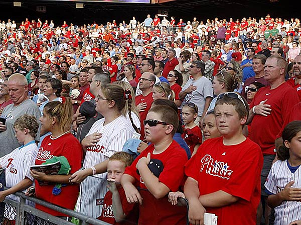 Philly Fans Phillies Fans File Photo
