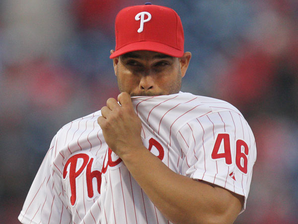 The Phillies optioned Raul Valdes and called up B.J. Rosenberg on Friday. (Steven M. Falk/Staff Photographer)
