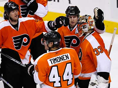 The Flyers hope to build on Sunday´s win over Detroit. (Ron Cortes/Staff Photographer)