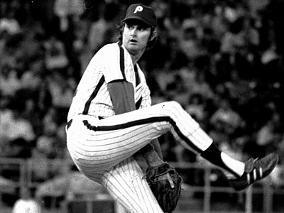 In 1972, Phillies lefthander Steve Carlton struck out 310 batters and posted an ERA of 1.97. (Bill Ingraham/AP)