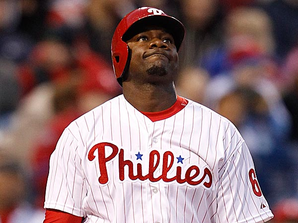 The Phillies´ Ryan Howard reacts after striking out. (Ron Cortes/Staff Photographer)