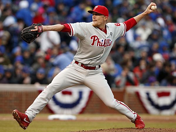 Phillies relief pitcher Jacob Diekman. (Andrew A. Nelles/AP)