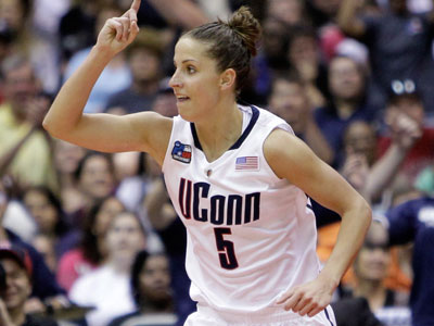 Germantown Academy's Caroline Doty hit two big three-pointers down the stretch. (Eric Gay/AP)