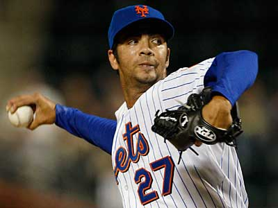 Nelson Figueroa was claimed off waivers from the Mets. (AP Photo/Kathy Willens)