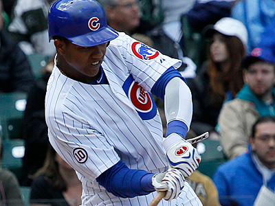 Cubs´ Starlin Castro is off to a hot start. (AP Photo/Charles Rex Arbogast)