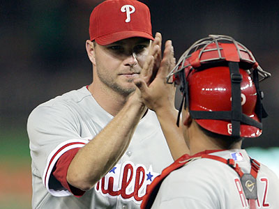 Ryan Madson got the four-out save for the Phillies Wednesday night. (Yong Kim/Staff Photographer)