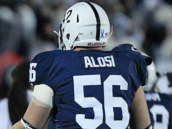 Penn State guard Anthony Alosi. (Gene J. Puskar/AP)