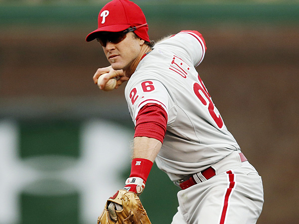 Phillies second baseman Chase Utley. (Andrew A. Nelles/AP)