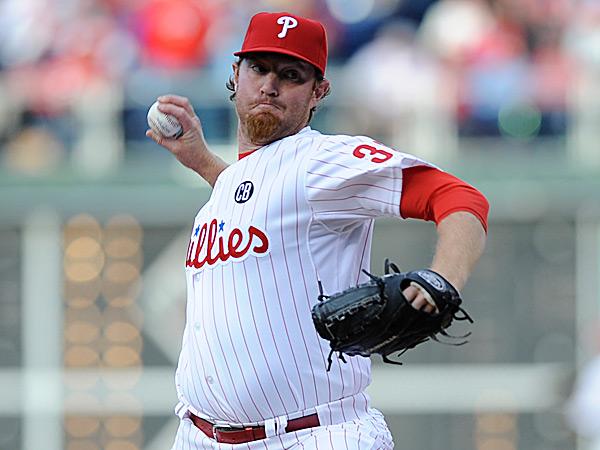 Phillies relief pitcher B.J. Rosenberg. (Michael Perez/AP)