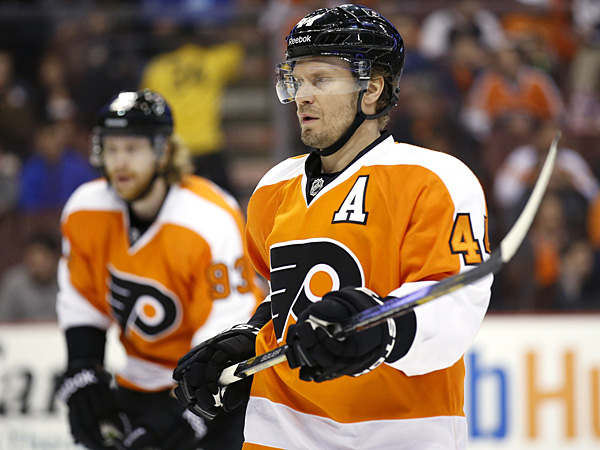 Flyers defenseman Kimmo Timonen. (Yong Kim/Staff Photographer)